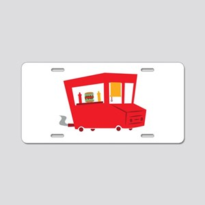 Food Truck Aluminum License Plate