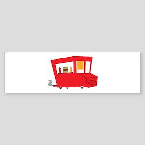 Food Truck Bumper Sticker