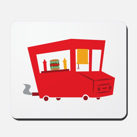 Food Truck Mousepad