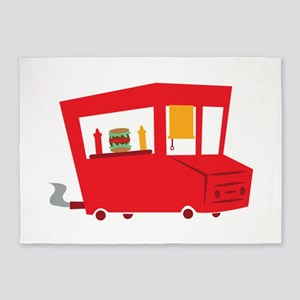 Food Truck 5'x7'Area Rug