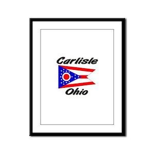 Carlisle Ohio Framed Panel Print