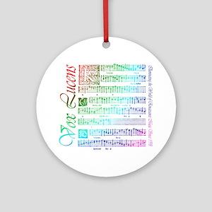 Vox Lucens #5 Ornament (Round)