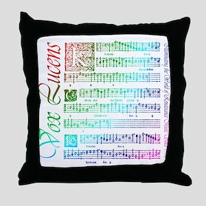 Vox Lucens #5 Throw Pillow