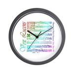 Vox Lucens #5 Wall Clock