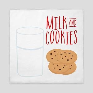 Milk And Cookies Queen Duvet