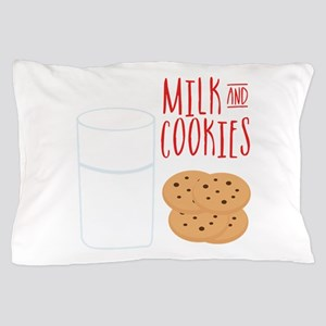 Milk And Cookies Pillow Case