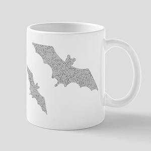 Distressed Grey Bats Mugs