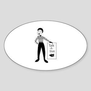 Talk-a-tive Sticker
