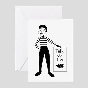 Talk-a-tive Greeting Cards