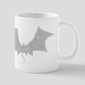 Distressed Grey Bat Mugs