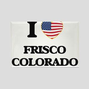I love Frisco Colorado USA Design Magnets