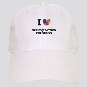 I love Grand Junction Colorado USA Design Cap