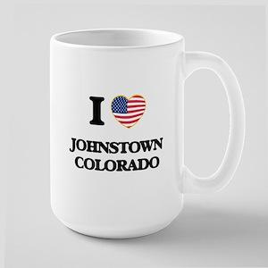 I love Johnstown Colorado USA Design Mugs