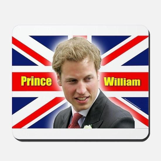 HRH Prince William Mousepad
