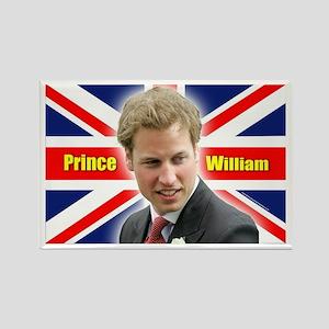 HRH Prince William Rectangle Magnet
