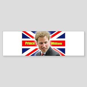 HRH Prince William Sticker (Bumper)