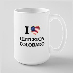 I love Littleton Colorado USA Design Mugs
