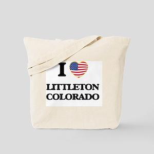 I love Littleton Colorado USA Design Tote Bag
