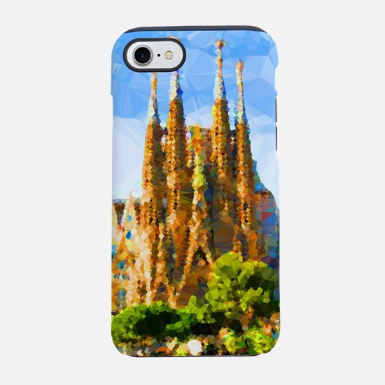 Holy Family Cathedral Barcelona iPhone 7 Tough Cas