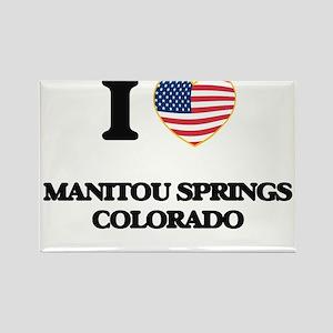 I love Manitou Springs Colorado USA Design Magnets