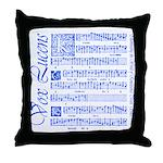 Vox Lucens #6 Throw Pillow
