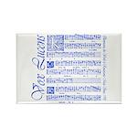 Vox Lucens #6 Rectangle Magnet (100 pack)
