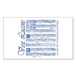 Vox Lucens #6 Rectangle Sticker