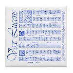 Vox Lucens #6 Tile Coaster