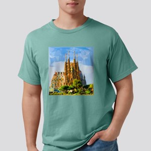 Holy Family Cathedral Barcelona T-Shirt
