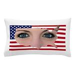 Us Woman U.s. Girl American Beauty Pillow Case
