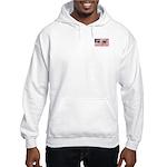 Us Woman U.s. Girl American Hooded Sweatshirt