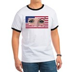 US Blonde American Beauty Ringer T