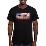 US Blonde American Bea Men's Fitted T-Shirt (dark)