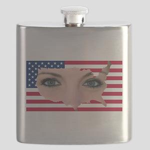 US Blonde American Beauty Flask