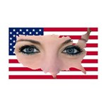 US Blonde American Beauty 35x21 Wall Decal