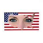 US Blonde American Beauty Aluminum License Plate