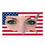 US Blonde American Beauty Postcards (Package of 8)