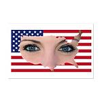 US Blonde American Beauty Mini Poster Print
