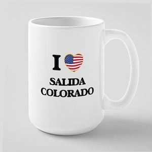 I love Salida Colorado USA Design Mugs