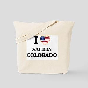 I love Salida Colorado USA Design Tote Bag