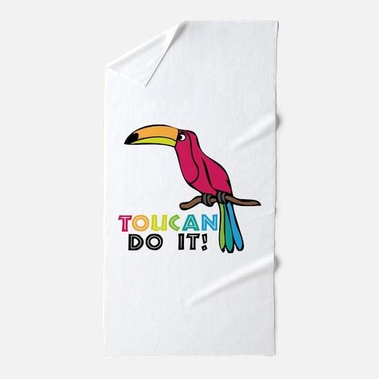 Toucan Do It Beach Towel