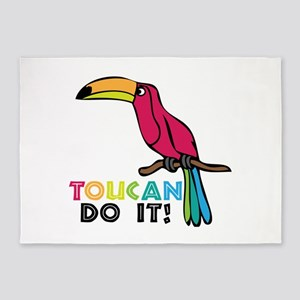 Toucan Do It 5'x7'Area Rug