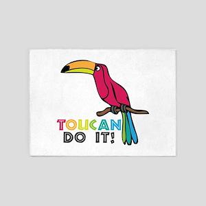Toucan Do It 5'x7'Area Rug