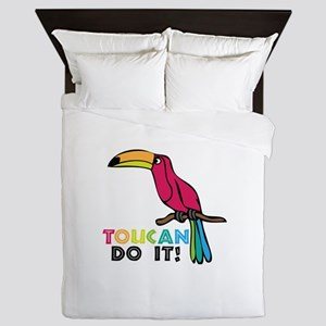 Toucan Do It Queen Duvet