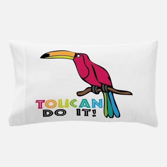 Toucan Do It Pillow Case
