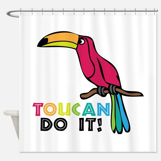 Toucan Do It Shower Curtain
