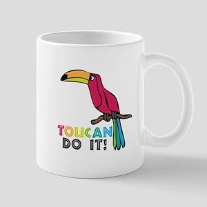 Toucan Do It Mugs