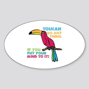 Toucan Do Anything Sticker