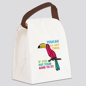 Toucan Do Anything Canvas Lunch Bag