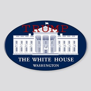 TRUMP WHITE HOUSE Sticker